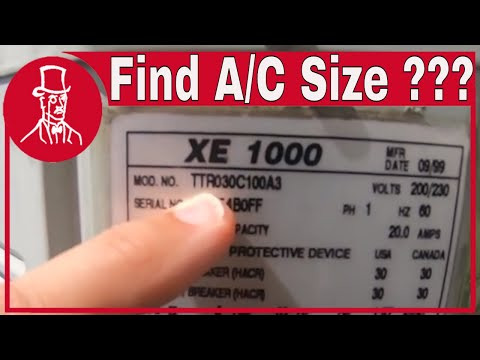 air conditioner tonnage calculation : how to find air conditioner size