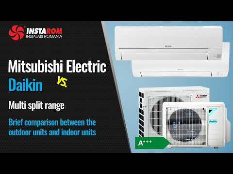 Daikin vs. Mitsubishi Electric Multi split systems | Brief Comparison