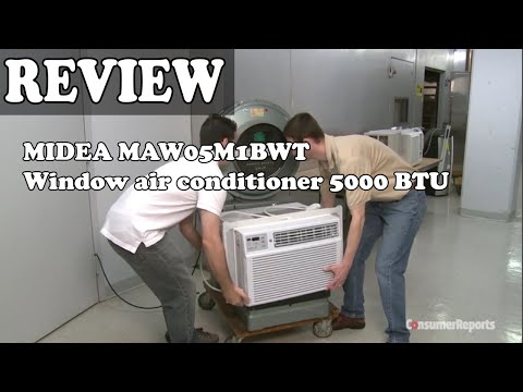 MIDEA MAW05M1BWT Window air conditioner 5000 BTU with Mechanical Controls - Review 2020