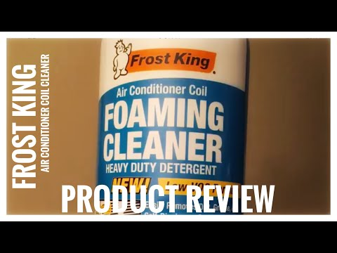 Frost King Air Conditioner Coil Foaming Cleaner